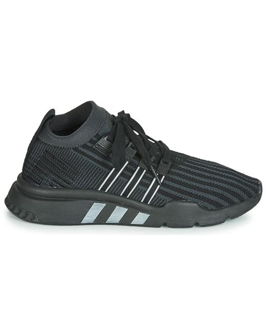 finest selection bb2cf 7e840 Men's Black Eqt Support Mid Adv Pk Shoes (trainers)