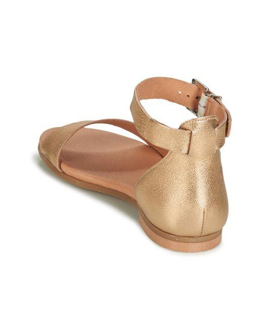 In Lyst Jikotire Sandals Metallic Betty London 0ZNk8nOXwP