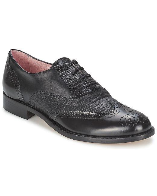 Elia B | Black Spectator Smart / Formal Shoes for Men | Lyst