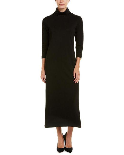 Joan Vass Black Shift Dress