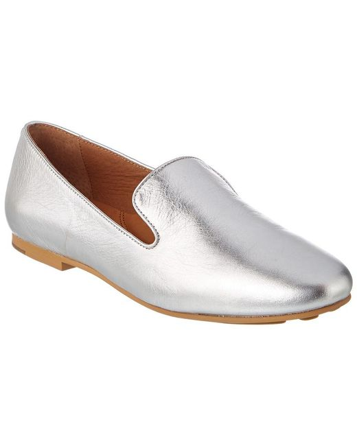 Gentle Souls - Metallic Eugene Leather Loafer - Lyst