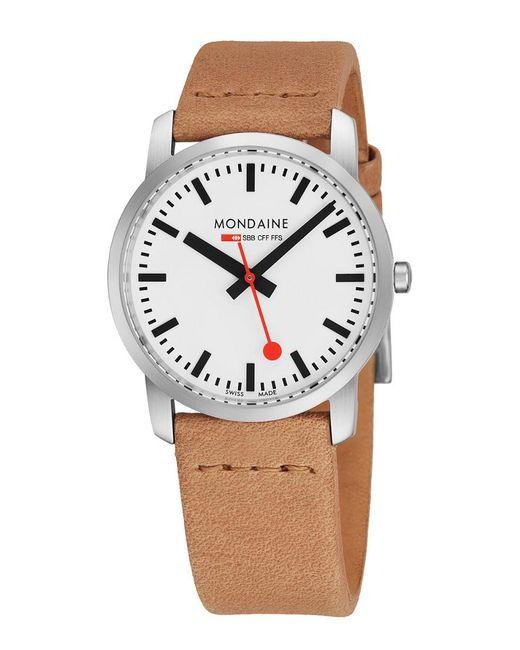 Mondaine - Multicolor Simply Elgnt Watch - Lyst