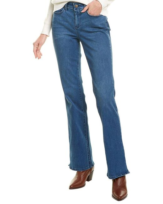 NYDJ Blue Barbara Market Bootcut Jean