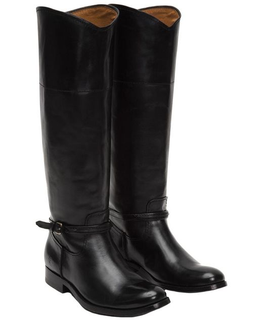 Frye - Black Melissa Seam Tall Boot - Lyst