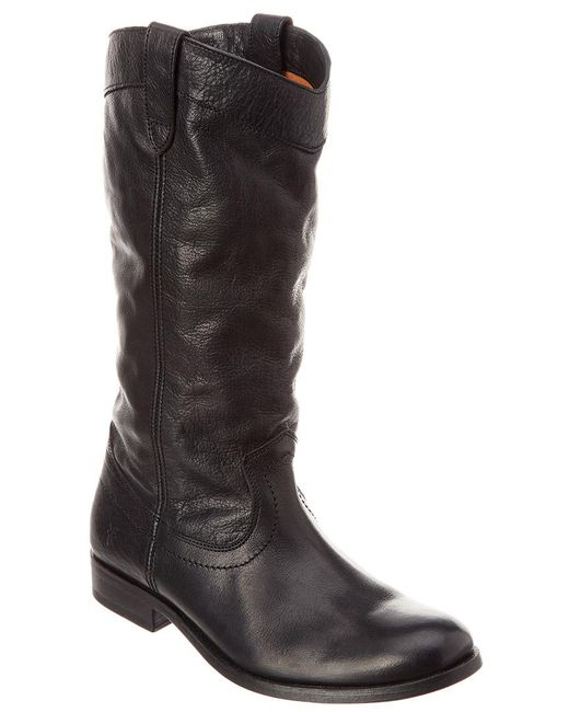Frye - Black Melissa Tall Leather Boot - Lyst