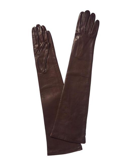Portolano Brown Teak Leather Gloves