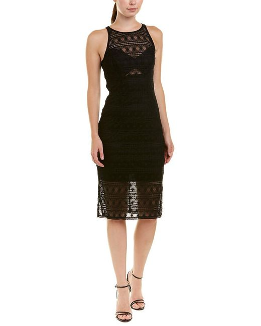 Trina Turk - Black Cher Cocktail Dress - Lyst