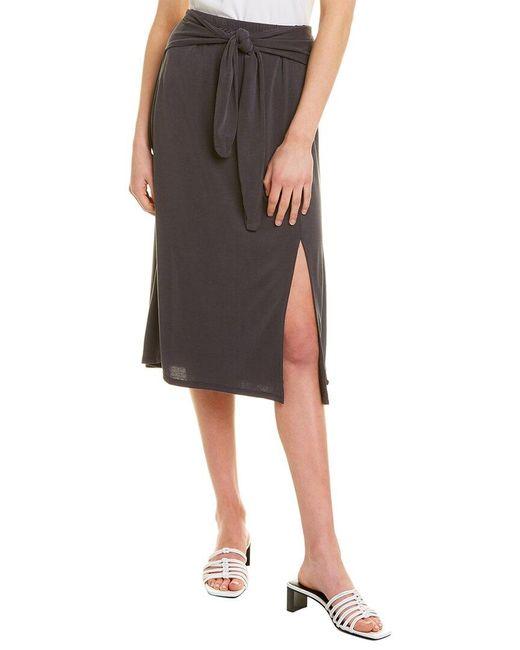 BCBGMAXAZRIA Gray Mainline Skirt