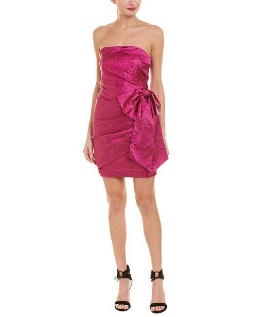 Ronny Kobo Purple Carolayna Shift Dress