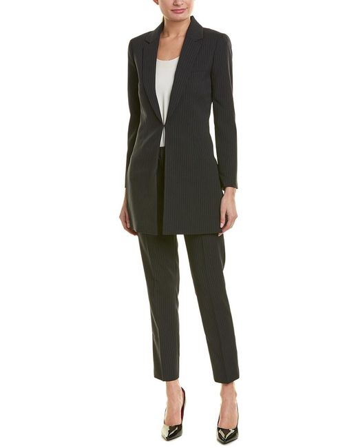 Tahari Black Tahari Asl 2pc Pant Suit