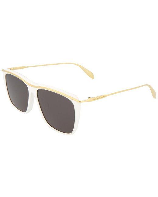 Alexander McQueen Multicolor Am0143sa 57mm Sunglasses for men