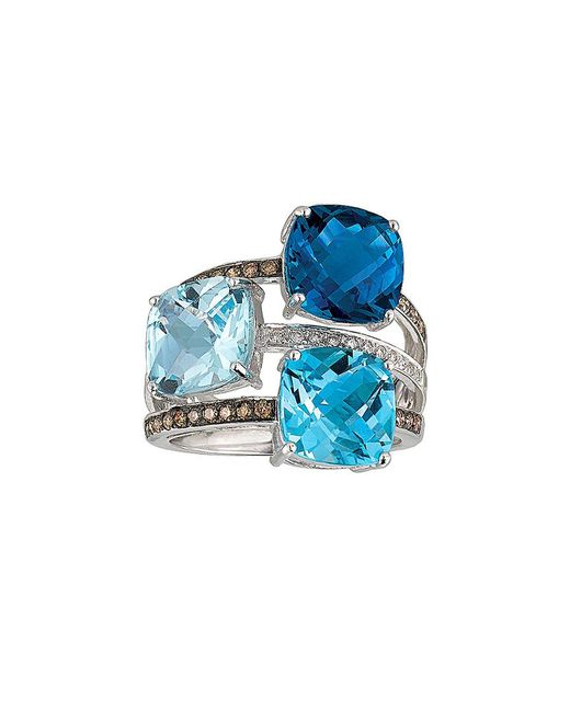 Le Vian - Blue ? 14k 9.75 Ct. Tw. Diamond & Gemstone Ring - Lyst