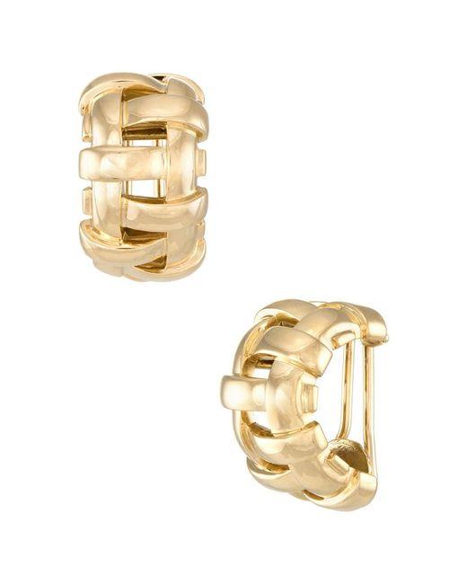 Heritage Tiffany & Co. - Metallic Tiffany & Co. 18k Earrings - Lyst