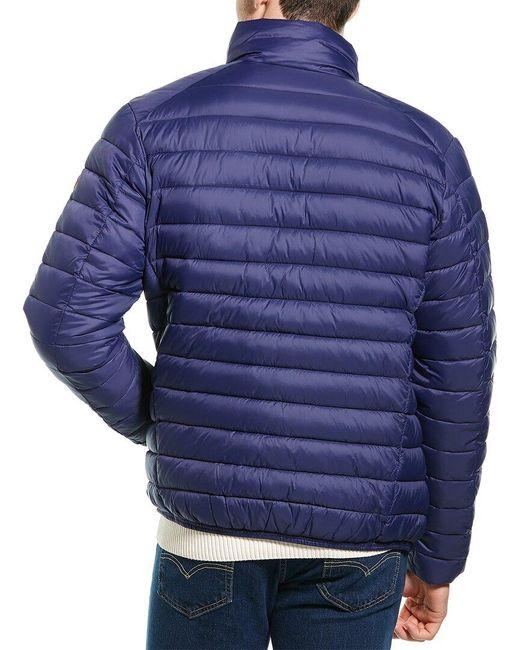 Save The Duck Blue Basic Jacket for men