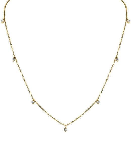 Sabrina Designs Metallic 14k 0.35 Ct. Tw. Diamond Necklace