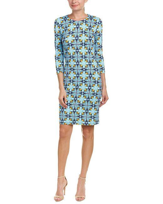 J.McLaughlin - Blue Catalina Cloth Sheath Dress - Lyst