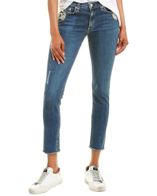 Rag & Bone Blue Jeans - The Skinny In La Paz