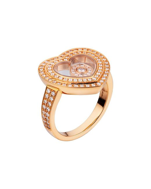 Chopard Metallic 18k 0.62 Ct. Tw. Diamond Ring