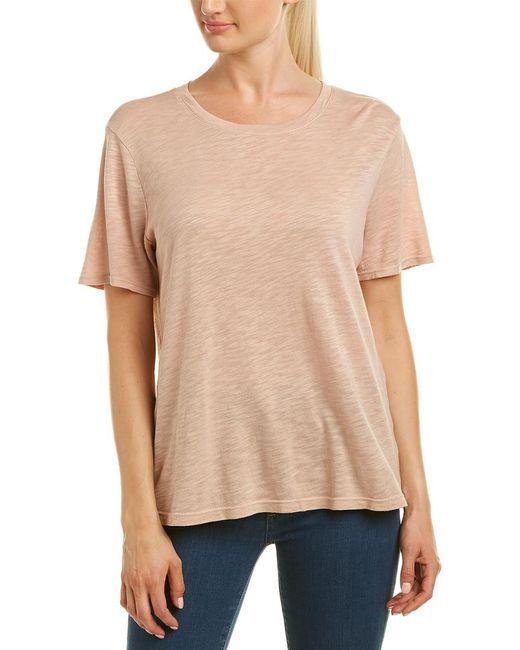 Splendid - Natural T-shirt - Lyst