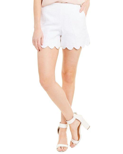 Trina Turk White Pacific Short