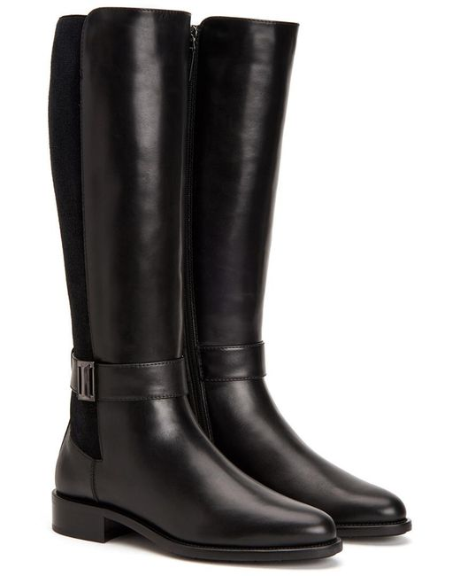 Aquatalia - Black Naomi Waterproof Leather Boot - Lyst