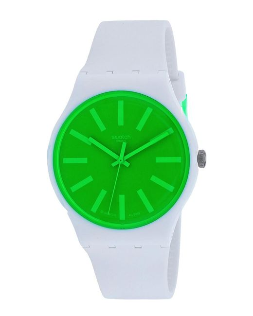 Swatch Green Classic Watch for men