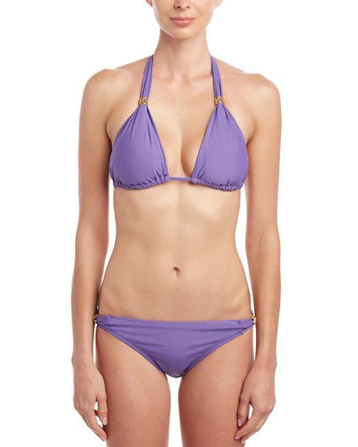 Helen Jon Purple Slider Hipster Bottom