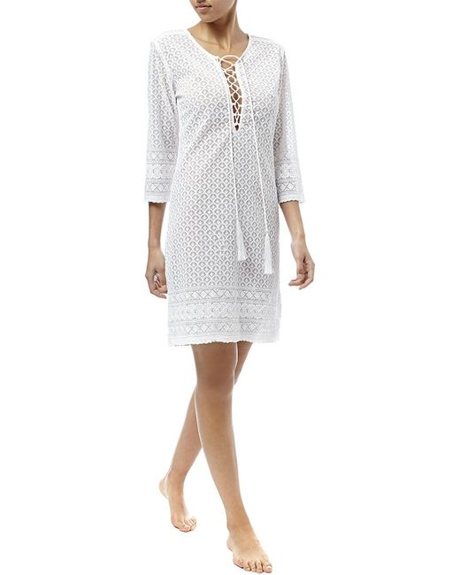 Melissa Odabash - White Bella Cover-up - Lyst