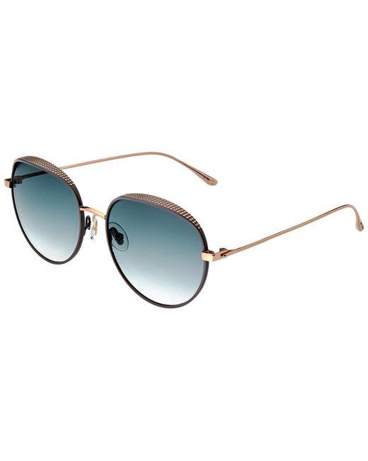 81d59afdd4c Jimmy Choo - Multicolor Women s Ello 56mm Sunglasses - Lyst ...