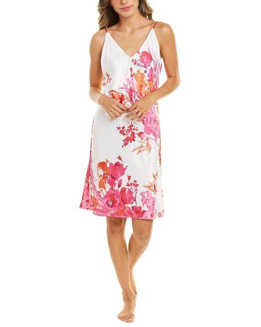 Natori Pink Bloom Slip