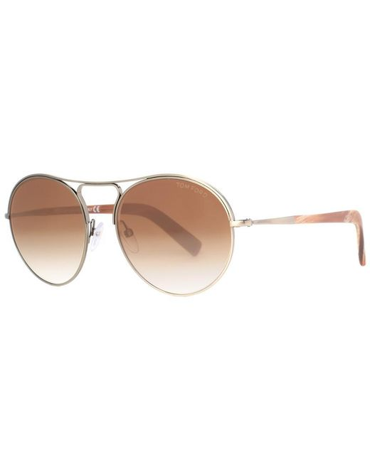 03fbb891f1c4 Tom Ford - Multicolor Jessie 54mm Sunglasses - Lyst ...