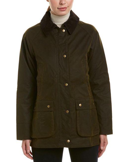 Barbour Green Acorn Wax Jacket