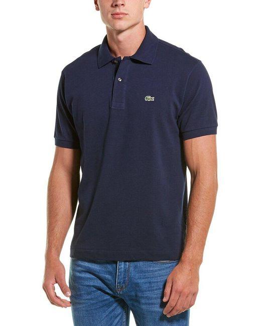 Lacoste Blue L1212 Classic Fit Polo for men