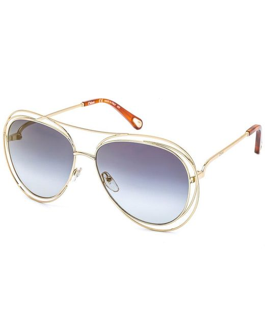 Chloé Blue Women's Ce134s 61mm Sunglasses