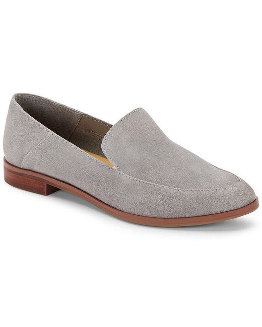 Dolce Vita Gray Coney Suede Loafer