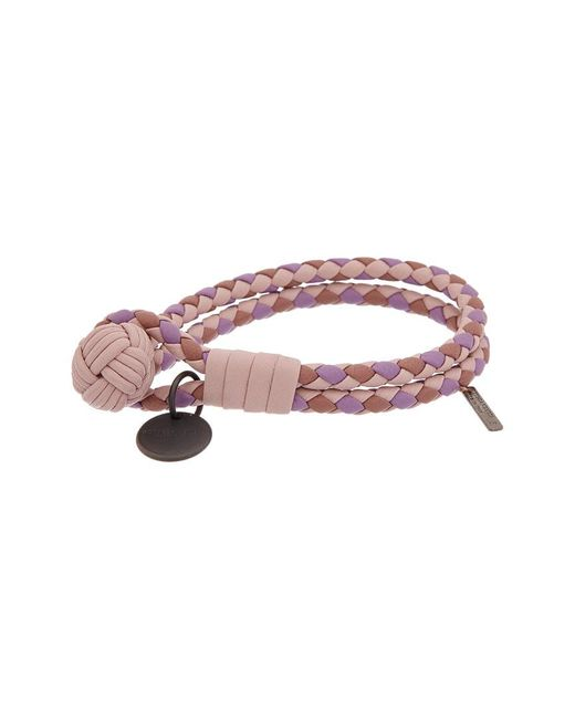 Bottega Veneta Multicolor Intrecciato Nappa Leather Bracelet