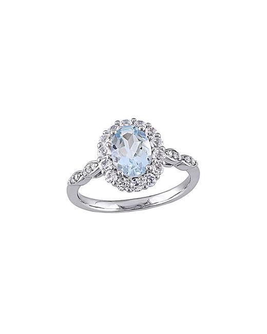 Rina Limor Metallic 14k 1.68 Ct. Tw. Diamond & Gemstone Ring