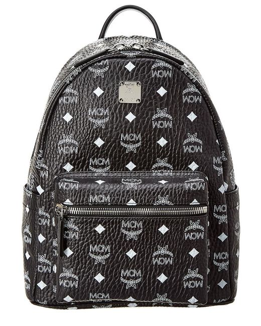 87d11c60a7b MCM - White Stark Logo Small Visetos Backpack - Lyst ...