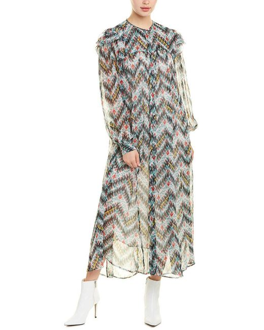 Isabel Marant Blue Midi Dress