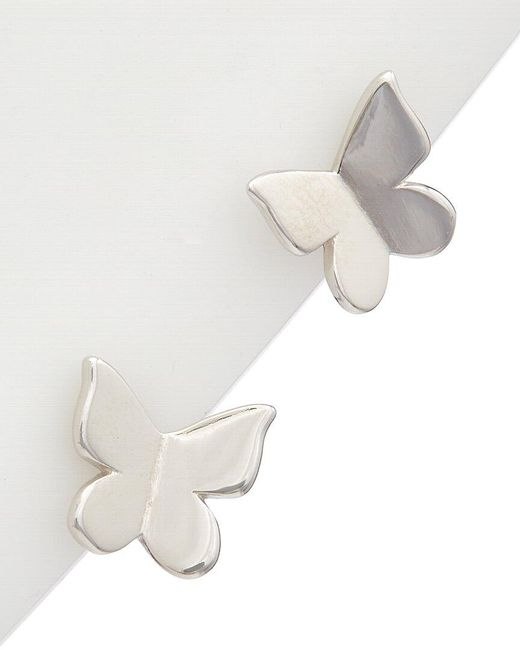 Alanna Bess Multicolor Limited Collection Silver Butterfly Studs