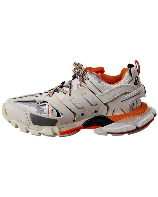 Balenciaga Multicolor Track Mesh & Nylon Sneaker for men