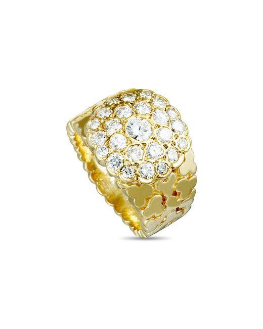 Van Cleef & Arpels Vintage Metallic Van Cleef & Arpels 18k 1.30 Ct. Tw. Diamond Ring