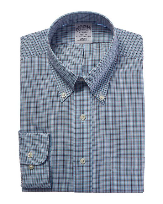 Brooks Brothers - Blue 1818 Regent Fit Dress Shirt for Men - Lyst