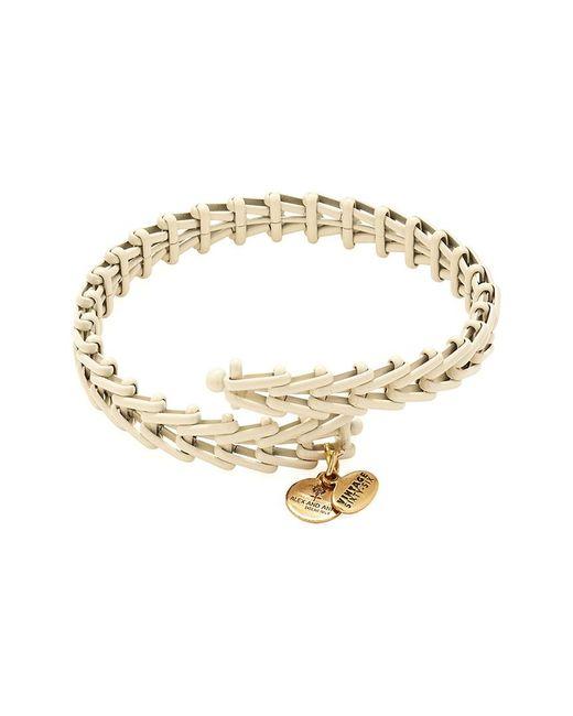 ALEX AND ANI - Metallic Road To Romance Gypsy 66 Wrap Bracelet - Lyst