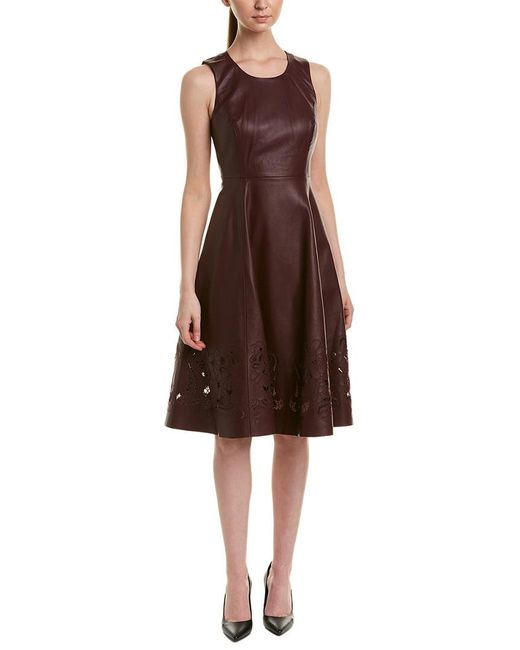 Catherine Malandrino Red A-line Dress