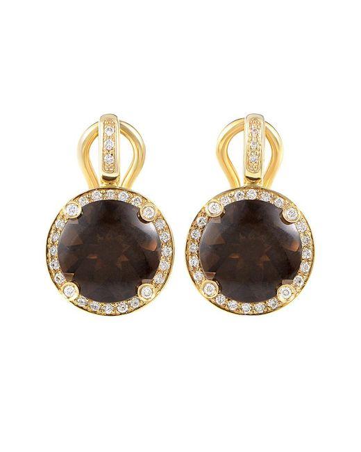 Poiray Metallic 18k 5.86 Ct. Tw. Diamond Drop Earrings