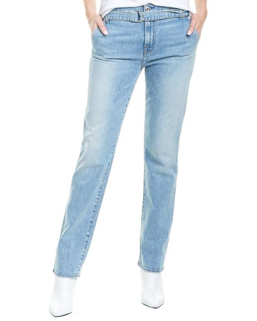 7 For All Mankind Blue 7 For All Mankind Vail Paperbag Jeans