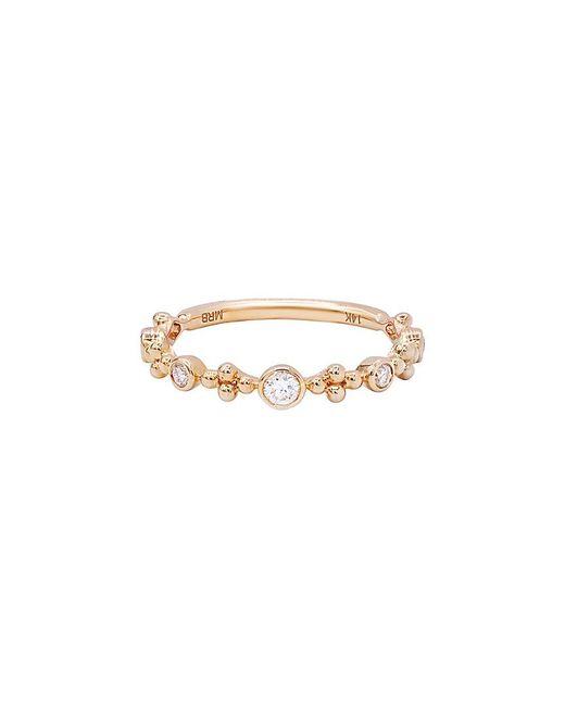 Diana M Metallic . Fine Jewelry 14k Rose Gold 0.20 Ct. Tw. Diamond Ring