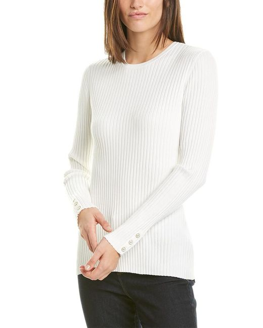 J.McLaughlin White Sweater