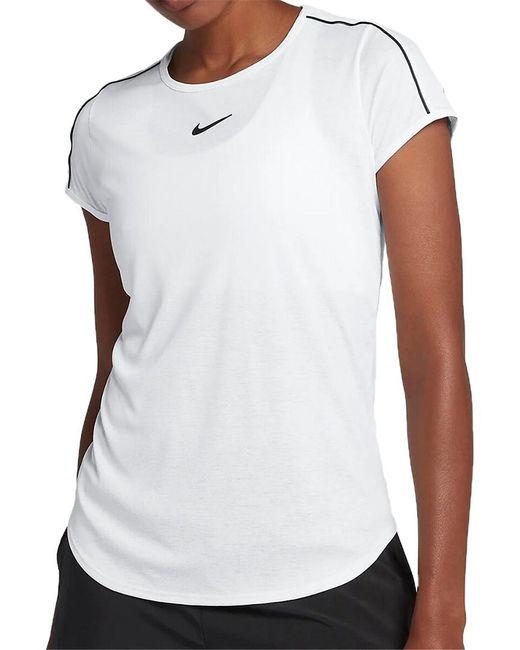 Nike White Court Dri-fit Tennis Top